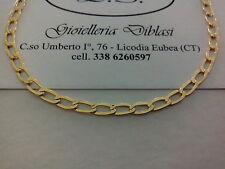 BELLISSIMA COLLANA  IN ORO GIALLO (oro 18 kt titolo 750%) necklace gold grams 3