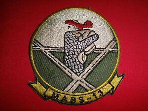 Vietnam War Patch USMC Marine Air Base Squadron MABS-13