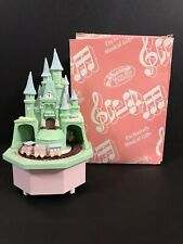The San Francisco Music Box Company Castle and Train Music Box 21-0807