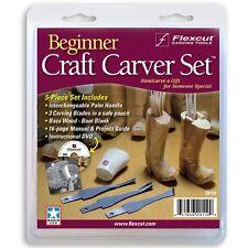 Flexcut Beginner Craft Carving Starter Set SK110 952573