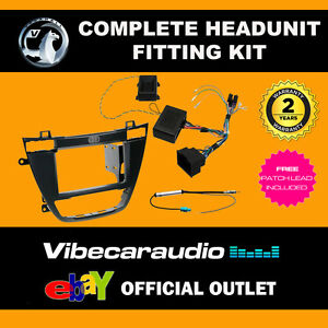 CTKVX02 Vauxhall Insignia 2008> Complete Double Din Stereo Fascia Fitting Kit
