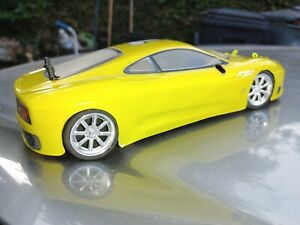 xray m18 1/18 scale 4wd roller with hpi micro rs4 tires