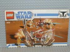 LEGO® Star Wars Bauanleitung 7670 Hailfire Droid instruction ungelocht B3387