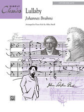 Lullaby (simply classics); Brahms, J arr. Small, A, Piano Solo, ALFRED - 14302