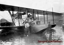 8x10 Print John Porte G Hallett Flying Boat Aeroplane Hammond NY 1914 #16411u