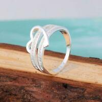 regalo coppia le donne elegante cuore fede placcati in argento l'amore crystal