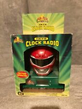 Micro Games Of America 1994 Power Rangers Radio Alarm Clock Still in the box.