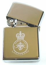 HM ARMED FORCES VETERANS CLASSIC HAND ENGRAVED LIGHTER
