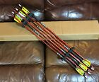 """(12) Rose City Cedar EXTREME ELITE 5/16"""" PAINTED & MATCHED 3S Arrows < 30# Spine"""