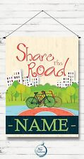 Garden Flag, House Flag, Share the Road, Bike, Bicycling