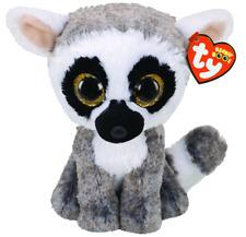 Ty Beanie Boos Lemur -Linus- 15cm + Geschenksäckchen