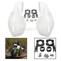 "Universal Handguards Hand Guards Protectors Motorcycle Motorbike 22mm 7/8"""