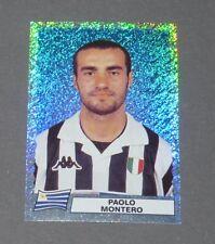 F PAOLO MONTERO URUGUAY JUVENTUS JUVE CALCIO PANINI SUPER FOOTBALL 99 1998-1999