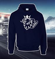 Scania Topline R Series Heavyweight Hoodie V8 Sweat All Sizes S - XXL Navy New