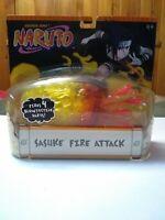 Shonen Jump Naruto Sasuke Fire Attack Accessory 2006 Mattel - Fires 4 Darts