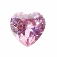 10X10mm AAAAA Garnet Ruby 6.06ct Heart Faceted Cut VVS Loose Gemstone