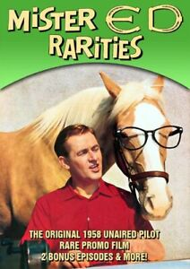 MISTER ED RARITIES NEW DVD