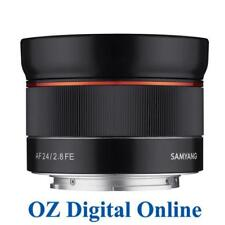 New Samyang AF 24mm f/2.8 FE Lens for Sony E Mount 1 Year Aust Wty