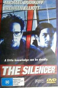 The Silencer DVD Michael Dudikoff Movie 1992 Brennan Elliott Action - PAL REGION