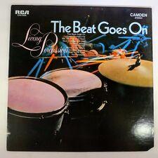 Vinyl RecordLiving PercussionThe Beat Goes OnCAS-2255RCA Camden1969Jazz,