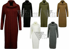 Acrylic Long Sleeve Casual Jumper Dresses for Women