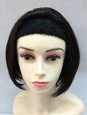 Posh Ladies Short Wig Straight Hair Half Wigs colour 4 Chestnut Brown