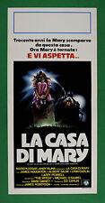 L61 LOCANDINA      LA CASA DI MARY MARIO KASSAR ANDY VAJNA JAMES HOUGNTON ALBERT
