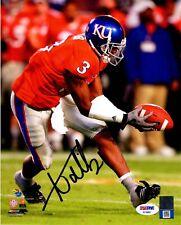 Aqib Talib autographed signed 8x10 NCAA Kansas Jayhawks PSA COA Broncos Rams