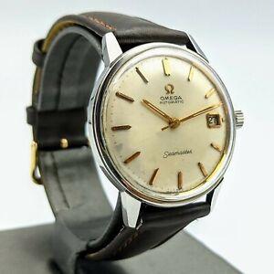1966 OMEGA Seamaster Automatic Wristwatch 24J Cal. 562 Date Indicator Watch