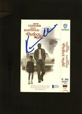 "C21327 Kevin Costner "" A Perfect World "" Signed Movie Cover AUTO Beckett BAS COA"