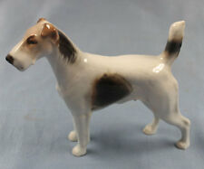 foxterrier Terrier Figur Rosenthal figur Hundefigur hund porzellan Diller f