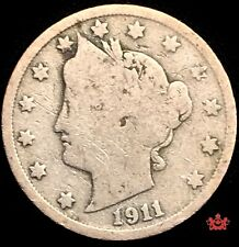 1911 United-States 5 Cents - Good - Lot#878
