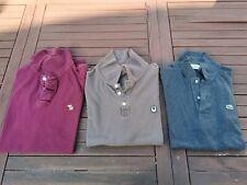 Lot Polos XL Abercrombie , Dainese et Lacoste