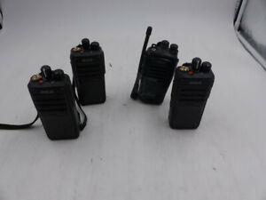 LOT OF 4 / 2-WAY RADIOS, MODELS INCLUDED; 3X RDR2500, 1X BR250U