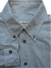 Calvin KLEIN Camicia Da Uomo 14.5 M Grigio Blu