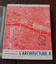 1954 L'Architecture II maison de l'homme Gutton