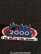 Disney Pin MGM Studios On With The Show 2000 Mickey Silhouette RETIRED FREE SHIP