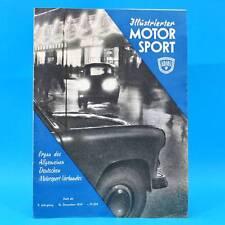 DDR Illustrierter Motorsport IMS 26/1959 MZ-Drehschiebermaschinen Wartburg Tour