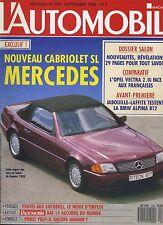L'AUTOMOBILE MAGAZINE n°509 11/1988 BMW ALPINA B12 MERCEDES SL VECTRA 2.0