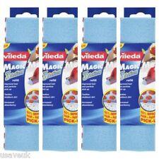 4 x spugne Vileda Magic Mop testa Ricarica Angolato -139963 - 4 Confezione Ricariche