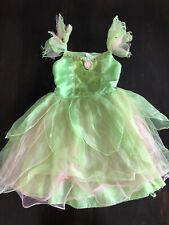 Disney Store Tinkerbell Costume 7/8.Pink and Green tulle skirt.