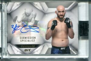 2020 Topps UFC Zak Cummings Submission Specialist AUTO AUTOGRAPH 50/334 MMA