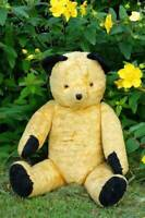 FABULOUS LARGE OLD 'SOOTY TYPE' BEAR 1960'S VINTAGE