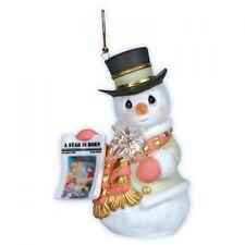 Precious Moments Snowman Star is Born 3rd Series Christmas Ornament 121026
