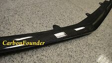 For Benz W218 CLS550 AMG Front Bumper Add Real Carbon Fiber Bumper Lip Spoiler