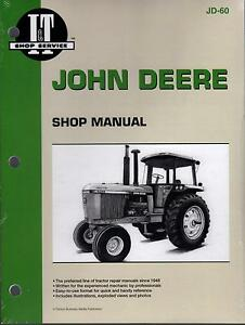 JOHN DEERE I&T DIESEL 4055,4255,4455,4555,4755 TRACTOR SERVICE MANUAL   JD-60