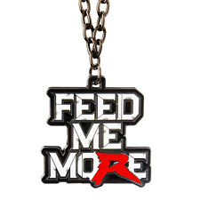 WWE RYBACK FEED ME MORE PENDANT OFFICIAL NEW