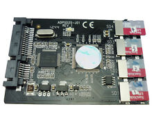 """2.5"""" SATA 6Gb/s SSD 4 TF / Micro SD SDHC SDXC cards to 2.5"""" SATA 3.0 HDD adapter"""