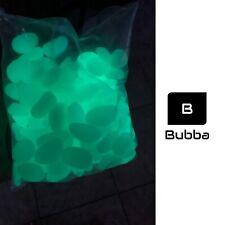 New listing 100 Pcs Glow in the Dark Stones,Garden Pebbles Rocks Walkway - green - Sunday