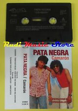 MC PATA NEGRA Camaron 1991 spain NM 14 581 R no cd lp dvd vhs